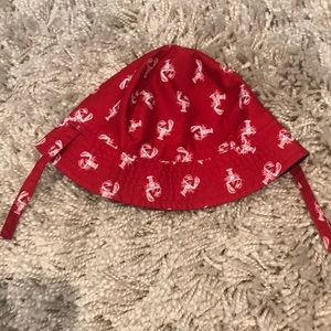Baby boy fisherman hat
